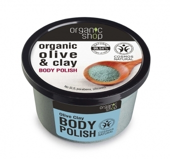 Organic Shop - Scrub Illuminante all'Oliva  (Body Polish Olive Clay)