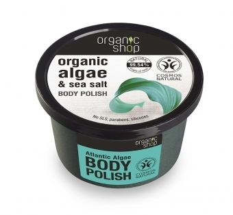 Organic Shop - Scrub Illuminante alle Alghe Atlantiche (Body Polish Atlantic Algae)
