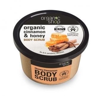 Organic Shop - Body Scrub Honey Cinnamon