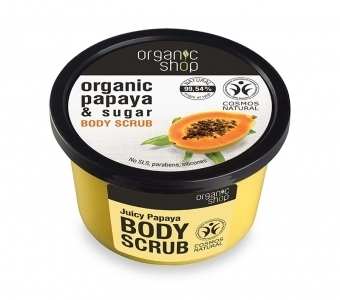 Organic Shop - Body Scrub Juicy Papaya