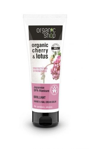 Organic Shop - Hand&Nail Cream-Balm Japanese SPA-Manicure