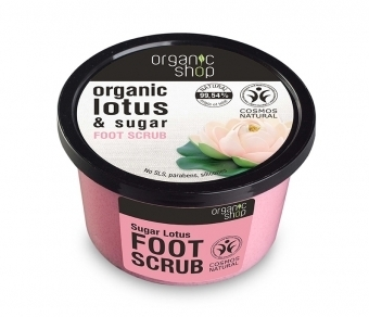 Organic Shop - Foot Sugar Lotus Scrub Piedi