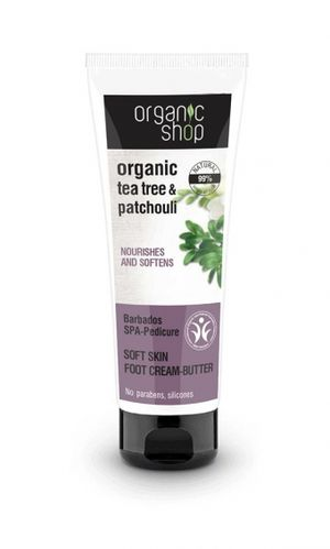Organic Shop - Foot Cream-Butter Barbados SPA-Pedicure