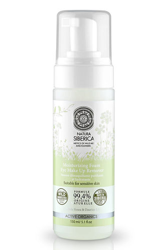 Natura Siberica - Mousse Struccante Occhi Idratante (Mosturizing Foam Eye Make Up Remover)