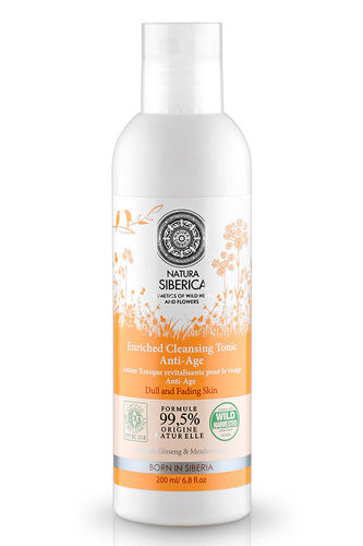 Natura Siberica - Enriched Cleansing Tonic Anti-Age - Detergente Tonificante Anti Age