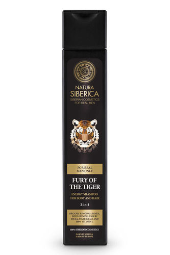 Natura Siberica Man - Fury Of The Tiger Energy ShampooDoccia 2 in 1