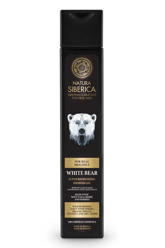 Natura Siberica Man - White Bear Shower Gel Super Rinfrescante Tonificante