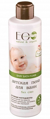 EC-Lab - Baby Bath Foam No More Tears (Bagnodoccia no lacrime)