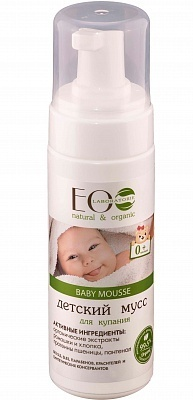 EC-Lab - Baby Bath Mousse (Bagnodoccia in Mousse)