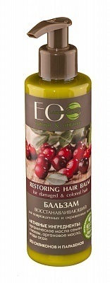 EC-Lab - Restoring Hair Balm for Damaged and Colored Hair (Balsamo Capelli Rovinati e Colorati)