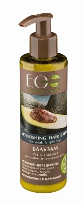 EC-Lab - Nourishing Hair Balm for Weak and Split Hair (Balsamo Capelli Deboli e Fragili)