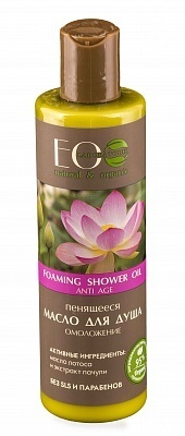 EC-Lab - Foaming Shower Oil Anti Age (Doccia Olio con Ylang Ylang, Loto e Patchouly)