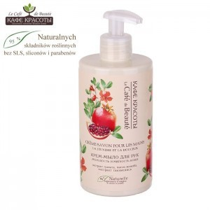 Le Café de Beauté - Cream Hand Soap Youth and Softness (crema sapone anti-age al melograno)