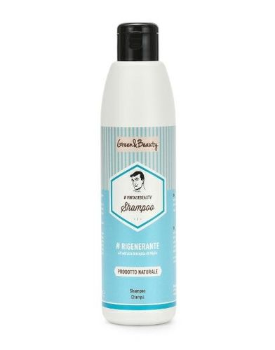 Greenatural - Shampoo Man Miglio Rigenerante 250 ml
