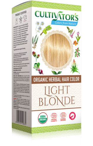 Cultivator's - Tinta Vegetale Biologica Light Blonde