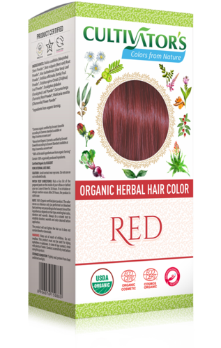 Cultivator's - Tinta Vegetale Biologica Red