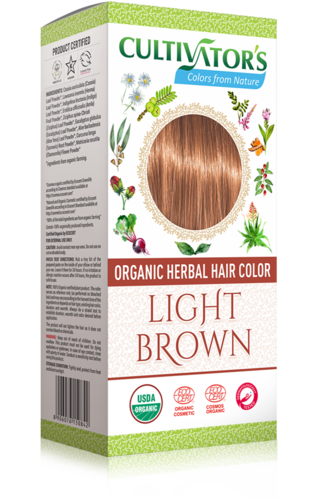 Cultivator's - Tinta Vegetale Biologica Light Brown