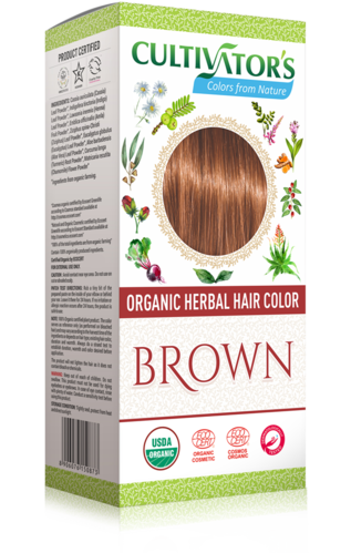 Cultivator's - Tinta Vegetale Biologica Brown