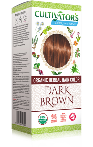 Cultivator's - Tinta Vegetale Biologica Dark Brown