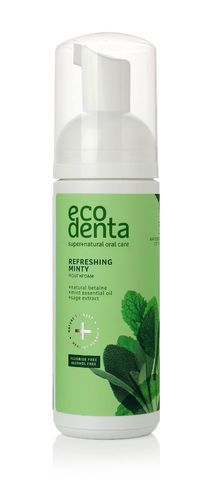 Ecodenta - Refreshing Oral Care Foam (Colluttorio Rinfrescante Mousse) 150 ml