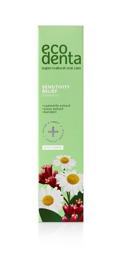 Ecodenta - Toothpaste for Sensitive Teeth (Dentifricio Denti Sensibili)