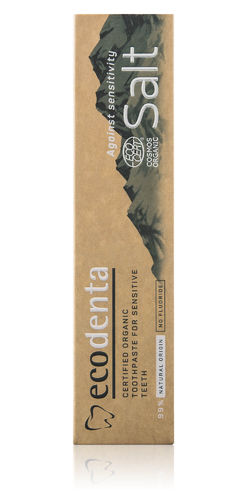 Ecodenta - Organic Toothpaste for Sensitive Teeth (Dentifricio Denti Sensibili)