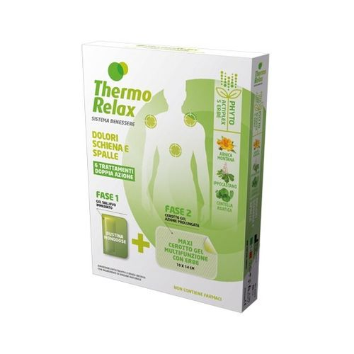 ThermoRelax - Phyto Gel Dolore Schiena Spalle 6 Pezzi