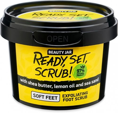 Beauty Jar - Scrub Piedi Ready, Set, Scrub!